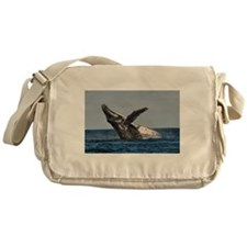 Humpback Whale 2 Messenger Bag