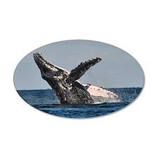 Humpback Whale 2 Wall Decal