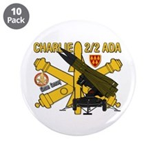 "Charlie 2/2 ADA 3.5"" Button (10 pack)"