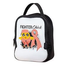 Endometrial Cancer Fighter Neoprene Lunch Bag