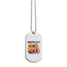 Endometrial Cancer Fighter Dog Tags