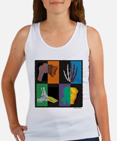 joints, square multicolor Tank Top