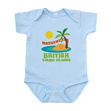 I Love The British Virgin Islands Infant Bodysuit