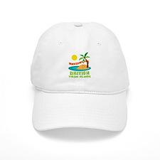 I Love The British Virgin Islands Baseball Cap