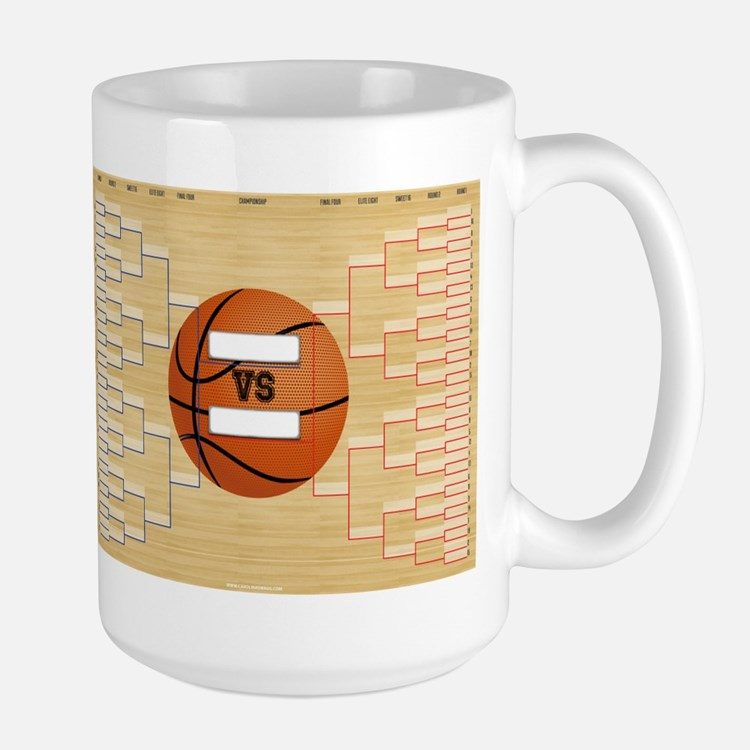 March Basketball Bracket Madness Chart Mug