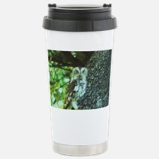 Young Owl Stainless Steel Travel Mug