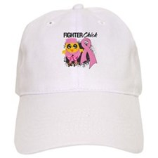 Breast Cancer Fighter Baseball Cap