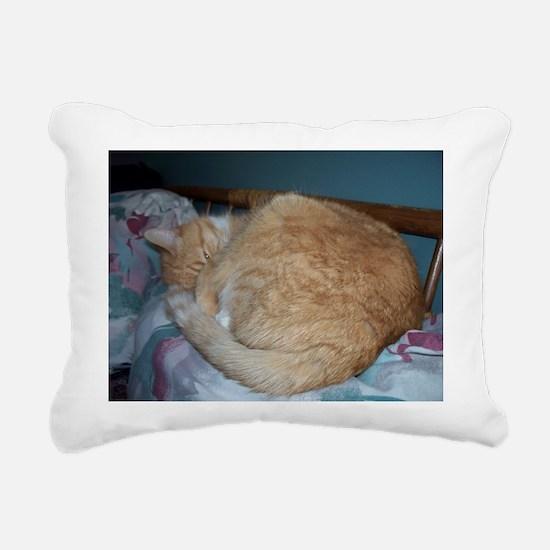 Peek-A-Boo Mufi Rectangular Canvas Pillow