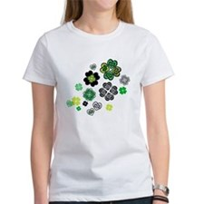 Celtic Love Knot Clovers Tee