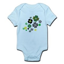 Celtic Love Knot Clovers Infant Bodysuit
