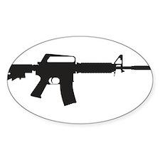 CAR-15 Assault Rifle. Decal