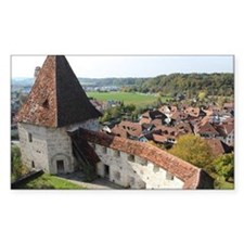 Ancient Swiss Castle Decal