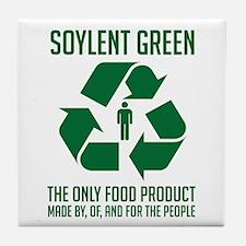 Strk3 Soylent Green Tile Coaster