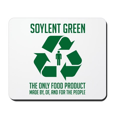 Strk3 Soylent Green Mousepad