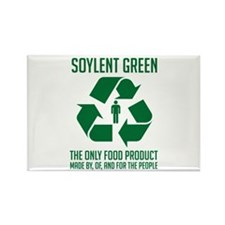 Strk3 Soylent Green Rectangle Magnet