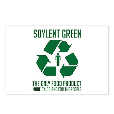 Strk3 Soylent Green Postcards (Package of 8)