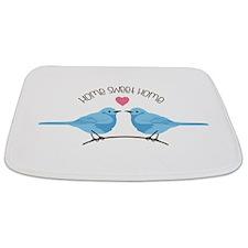 Home Sweet Home Bluebirds Bathmat