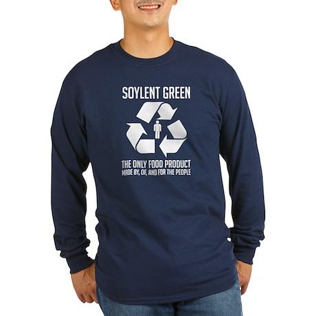 Strk3 Soylent Green Long Sleeve Dark T-Shirt