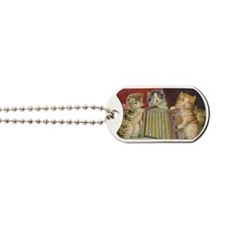 Cute Antique Kittens Dog Tags