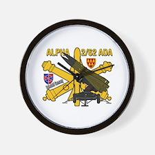 Alpha 2/62 Ada Wall Clock