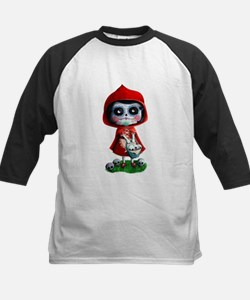 Spooky Red Riding Hood Baseball Jersey