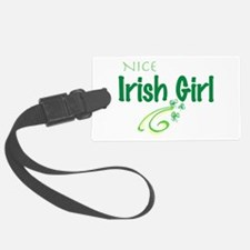 Nice Irish Girl Luggage Tag