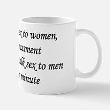 Sexual Harassment Mug