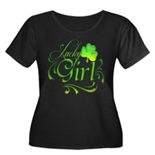 Lucky Girl Plus Size T-Shirt