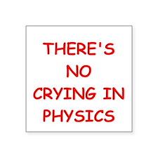 physics joke Sticker