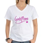 GuateMama Text Women's V-Neck T-Shirt