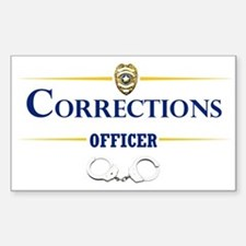 Corrections Officer Stickers
