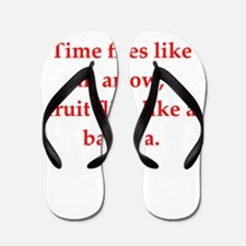 physics joke Flip Flops