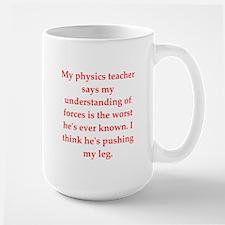 physics joke Mugs