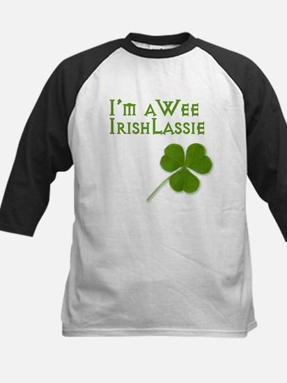 Wee Irish Lassie Baseball Jersey