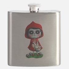 Spooky Red Riding Hood Flask