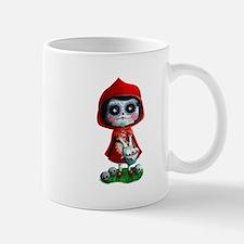 Spooky Red Riding Hood Mugs
