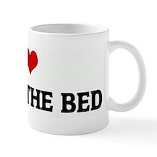 I Love PEEING THE BED Mug