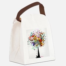 Art Tree Canvas Lunch Bag