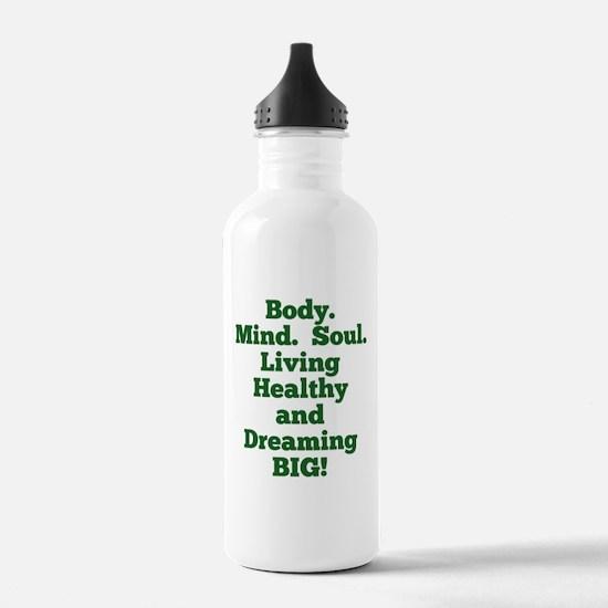 Body, Mind, Soul Water Bottle