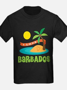 I Love Barbados T