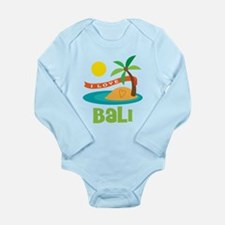 I Love Bali Long Sleeve Infant Bodysuit
