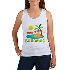 I Love The Bahamas Women's Tank Top