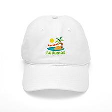 I Love The Bahamas Baseball Cap
