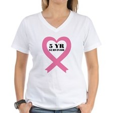 Breast Cancer 5 Year Surviv Shirt