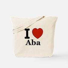 I love Aba Tote Bag
