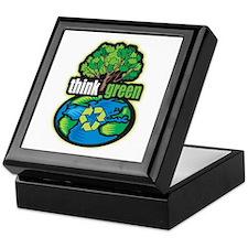 Think Green Keepsake Box