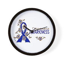 Awareness 6 Dysautonomia Wall Clock
