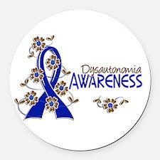 Awareness 6 Dysautonomia Round Car Magnet