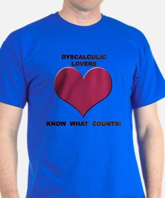 Dyscalculic Lovers T-Shirt