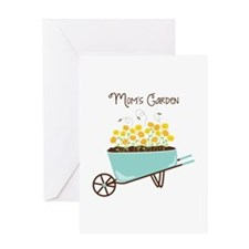 Moms Garden Greeting Cards
